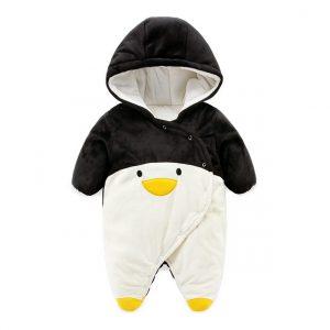 Enterizo en forma de pinguino