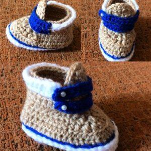 Modernas zapatillas tipo botines