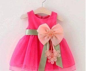 Los cinco vestidos mas hermosos para niñas Bebes
