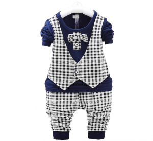 Moderno diseño de conjunto de ropa para bebe