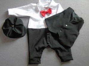 Terno bebe color negro
