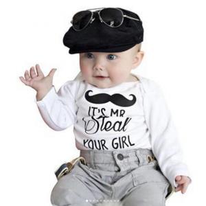 Tierno conjunto de ropa formal para bebe