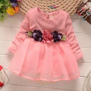 vestido coral