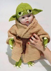 Disfraz tejido maestro Yoda