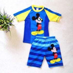 Hermoso ropa de baño niño Micky Mouse
