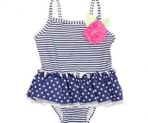 12 ropas de baño modelo enterizo para niña