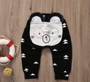 Bello pantalón diseño osito
