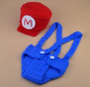 Disfraz bebe Mario Bros