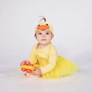 Disfraz patita bebe