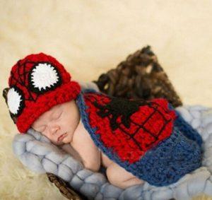 Disfraz recién nacido Hombre Araña