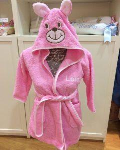 Lindabatade baño bebe conejita