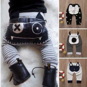 Moderno pantalon carita pirata