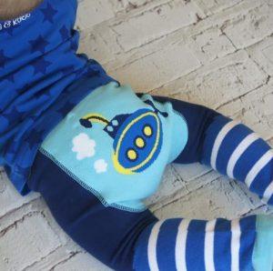 Novedoso pantalón bebe submarino