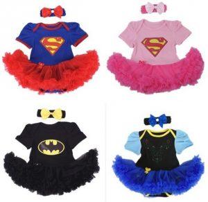 Originales disfraces de superhéroe niña