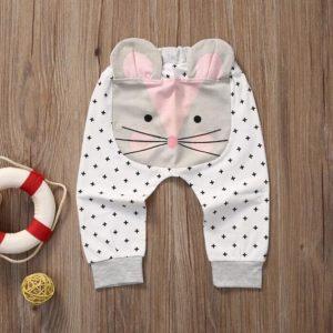 Pantalón bebe modelo ratoncita