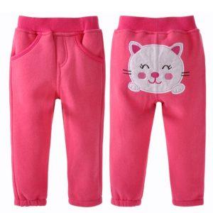 Pantalón gatita color fucsia