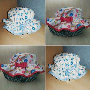 Sombrero de verano de tela