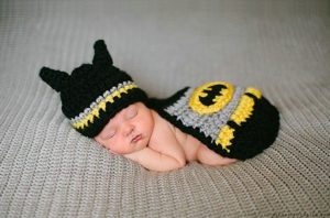 Superheroe bebe Batman