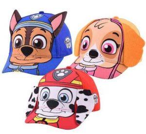 Paw Patrol, novedosas gorras para niños