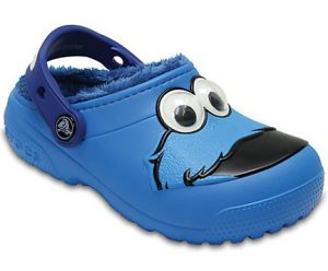 Lindo Crocs Elmo color azul