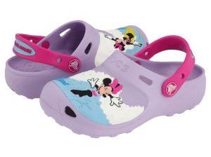 Crocs para niña diseño Minie