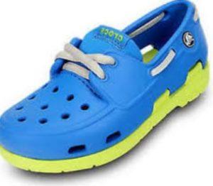 Crocs estilo zapatilla