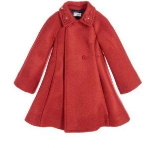 Elegante abrigo niña