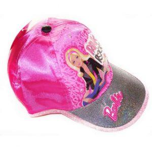 Barbie, hermoso diseño de gorra para niña