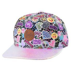 Gorra para niña modelo urbano