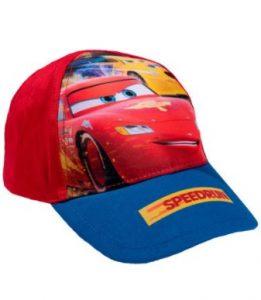Exclusiva gorra para niños diseño Cars