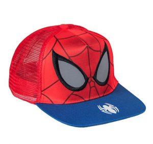 Gorra para niños visera plana hombre Araña