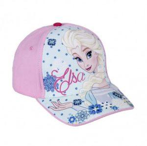 Hermosa gorra para niña diseño Elsa