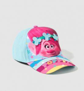 Hermosa gorra para niña modelo Troll
