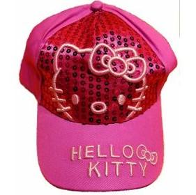 Linda gorra para niña modelo Kitty