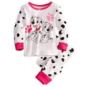 Linda pijama niña modelo perrito