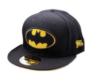 Moderna gorra con visera plana Batman