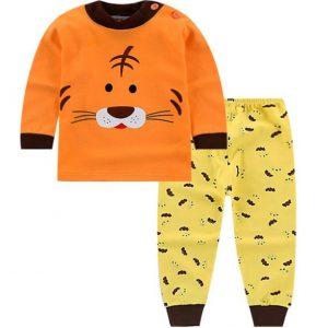 Pijama niño diseño tigre