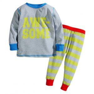 Pijama niño estilo urbano