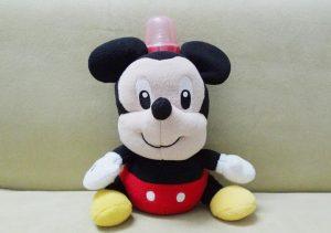 Porta biberón peluche , Micky Mouse