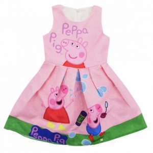 Vestido Peppa color rosado