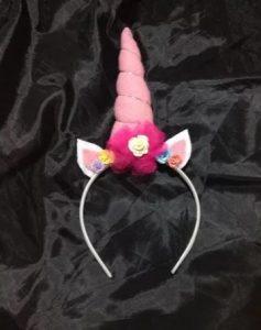 Nueva vincha modelo unicornio