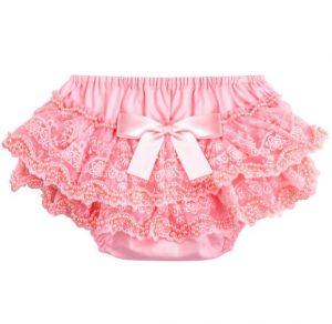 Calzóncon bobos color rosado