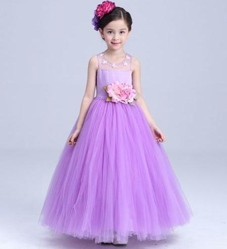 color lila vestido de promocion