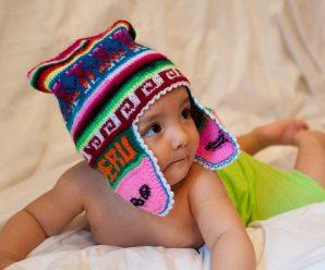 Lindos chullos andinos para abrigar a tu bebe