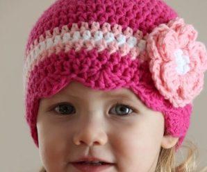 14 preciosos gorros tejidos a mano para niña