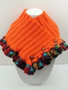 preciosos ponchos tejidos a mano