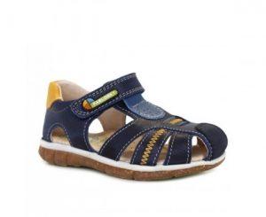 Sandalia para niño color azul