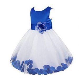 Vestidos para ninas color azul pastel
