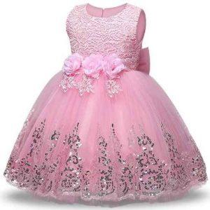 vestido de promoción inicial 5 años