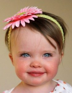 modelos de diademas para bebe